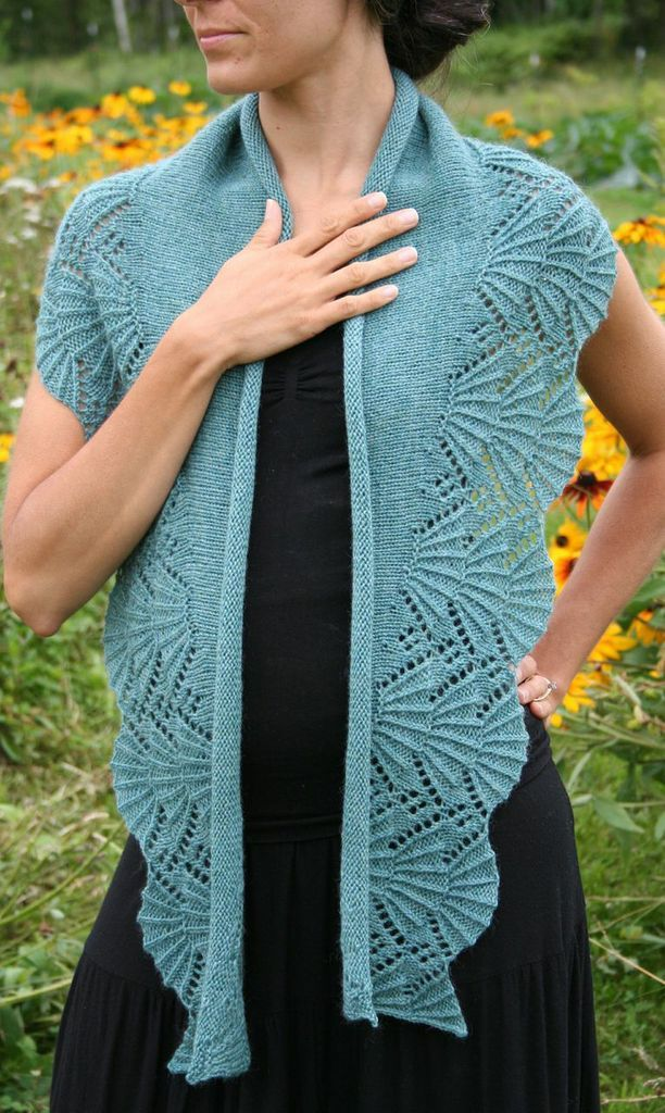 Bliss Shawl Pattern - Knitting Patterns and Crochet Patterns from KnitPicks.com
