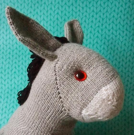 Free Dk Baby Knitting Patterns : Duncan the Donkey - Knitting Patterns and Crochet Patterns from KnitPicks.com