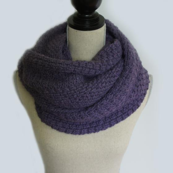 Crochet Scarf Pattern Q Hook : Triple Panelled Crochet Scarf - Knitting Patterns and ...