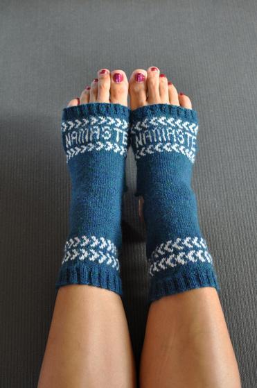 Fair Isle Yoga Socks - Knitting Patterns and Crochet Patterns from ...