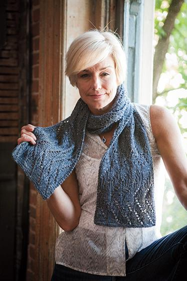 Lace Zig Zag Scarf Knitting Pattern : Zig zag lace scarf knitting patterns and crochet from knitpicks