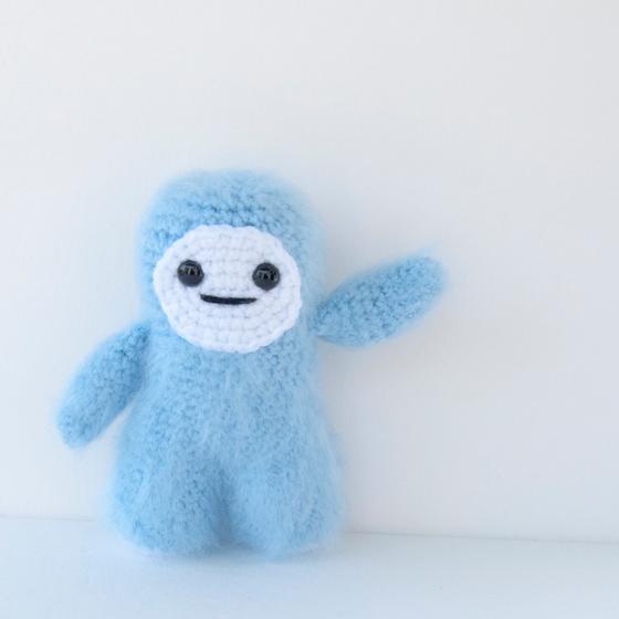 Amigurumi Crochet Yeti - Knitting Patterns and Crochet ...