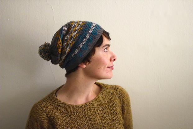 Fair Isle Crochet Hat - Knitting Patterns and Crochet Patterns ...