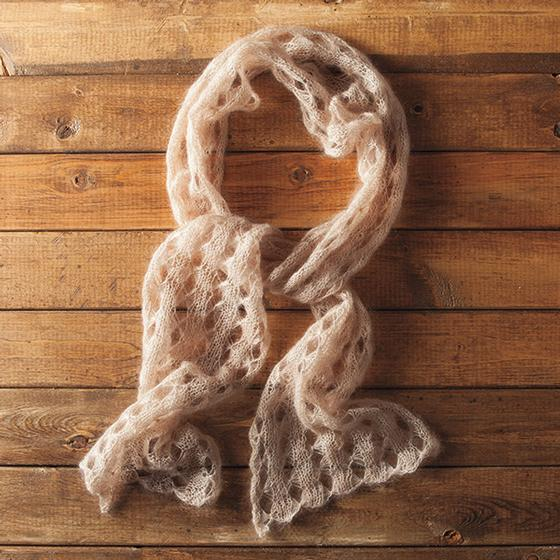 Butterfly Lace Scarf - Knitting Patterns and Crochet Patterns from KnitPicks.com