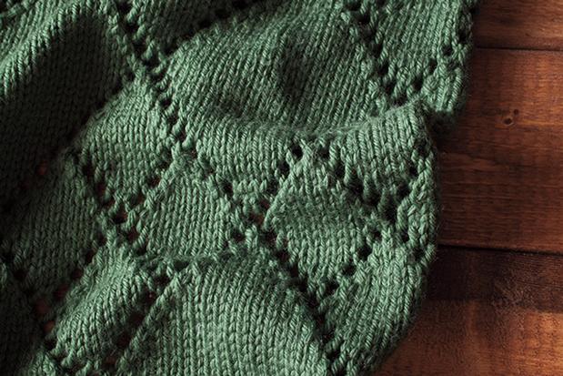 Diamond Kerchief Cowl - Knitting Patterns and Crochet ...