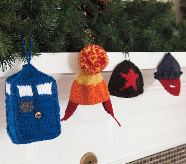 Nerd Holiday Ornaments - Knitting Patterns and Crochet Patterns ...