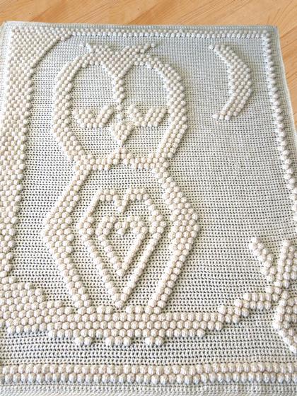 Owl Blanket Knitting Pattern : Sleepy Owl Blanket - Knitting Patterns and Crochet Patterns from KnitPicks.com