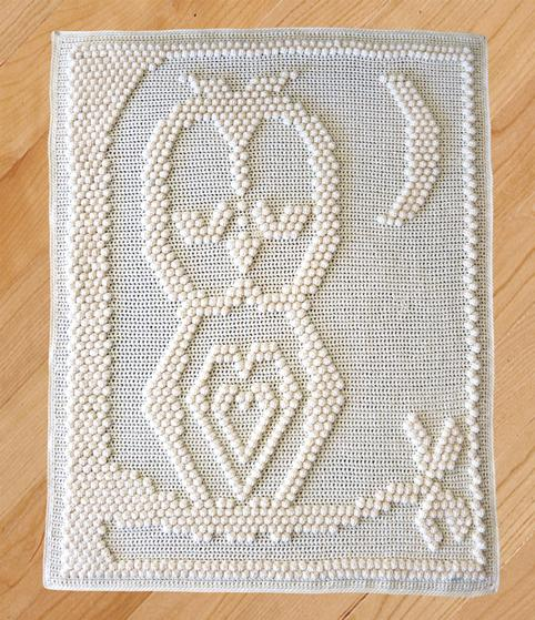 Sleepy Owl Blanket - Knitting Patterns and Crochet Patterns from KnitPicks.com