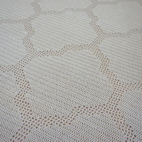 Quatrefoil Knitting Pattern : Quatrefoil Throw - Filet Crochet - Knitting Patterns and Crochet Patterns fro...