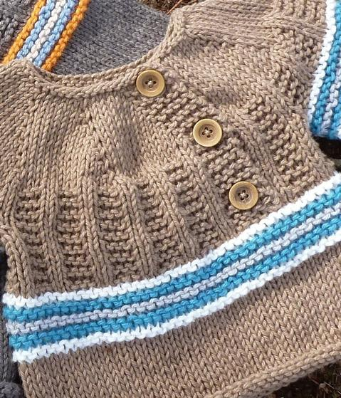Free Knitting Patterns For Spring Sweaters : Spring Thaw Pullover Sweater - Knitting Patterns and Crochet Patterns from Kn...