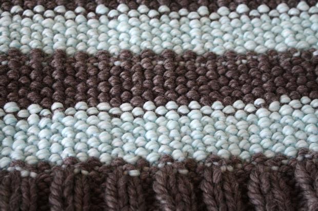Knitting Linen Stitch On Circular Needles : Bulky Weight Linen Stitch Cowl - Knitting Patterns and Crochet Patterns from ...