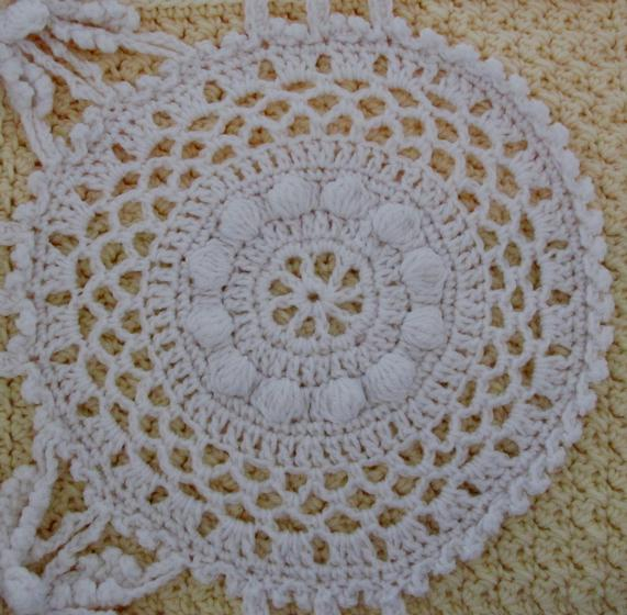 Paneled Lace Crochet Afghan - Knitting Patterns and Crochet Patterns from Kni...