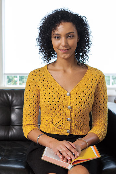 knit picks yarn patterns cardigan