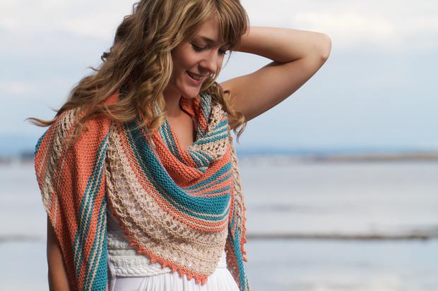 Beachcomber shawl