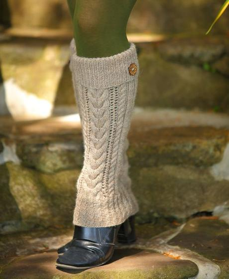 Knitting Leg Warmers Pattern : Earth Mama Leg Warmers - Knitting Patterns and Crochet Patterns from KnitPick...