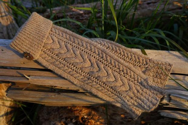 Leg Warmers Knitting Pattern Circular Needles : Earth Mama Leg Warmers - Knitting Patterns and Crochet Patterns from KnitPick...