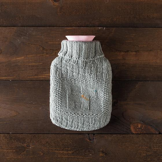 Hot Water Bottle Cover Knitting Pattern Dk : Best Friend Hot Water Bottle Cover - Knitting Patterns and Crochet Patterns f...