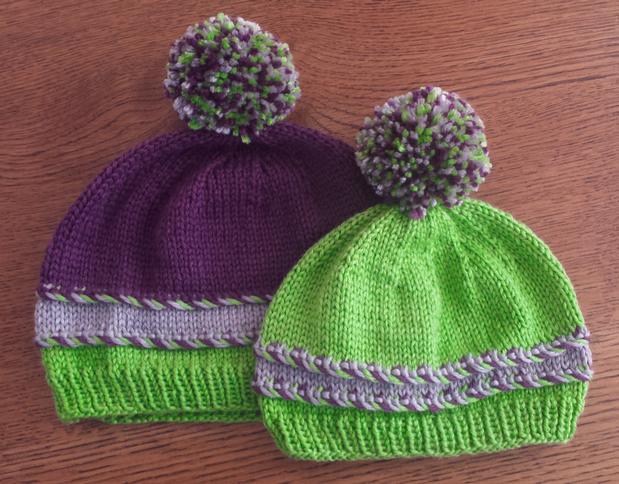 Helix Hat - Knitting Patterns and Crochet Patterns from KnitPicks.com