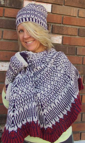 Zen Knitting Patterns : Zen the shawl knitting patterns and crochet