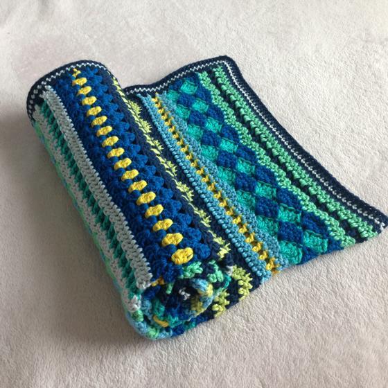 Knit Picky Patterns Baby Blankets : Baby Blues Blanket - Knitting Patterns and Crochet Patterns from KnitPicks.com