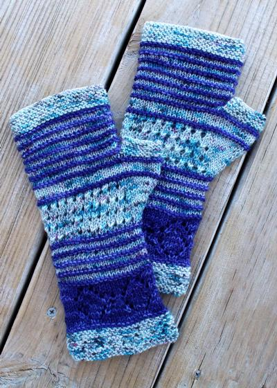 Bowties are Cool Mitts - Knitting Patterns and Crochet Patterns from KnitPick...