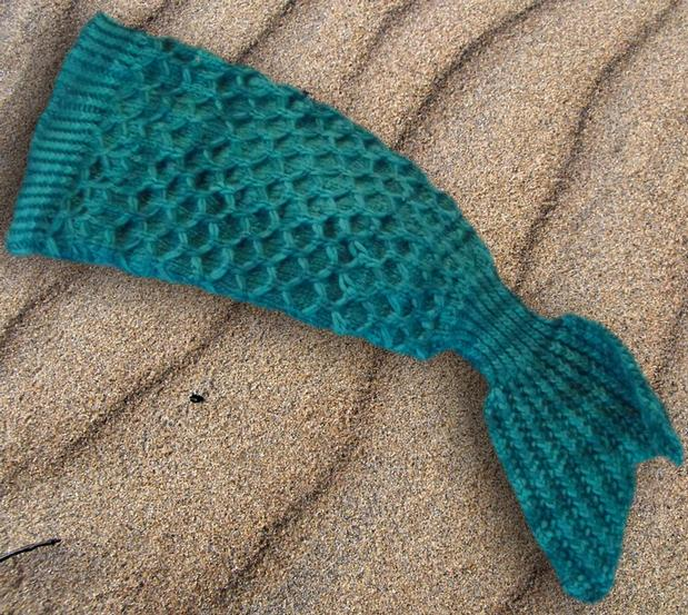 Knitting Patterns For A Child s Mermaid Tail : Baby Mermaid Tail - Knitting Patterns and Crochet Patterns from KnitPicks.com