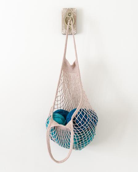 Market Bag Knitting Pattern : Crochet Market Bag - Knitting Patterns and Crochet Patterns from KnitPicks.com
