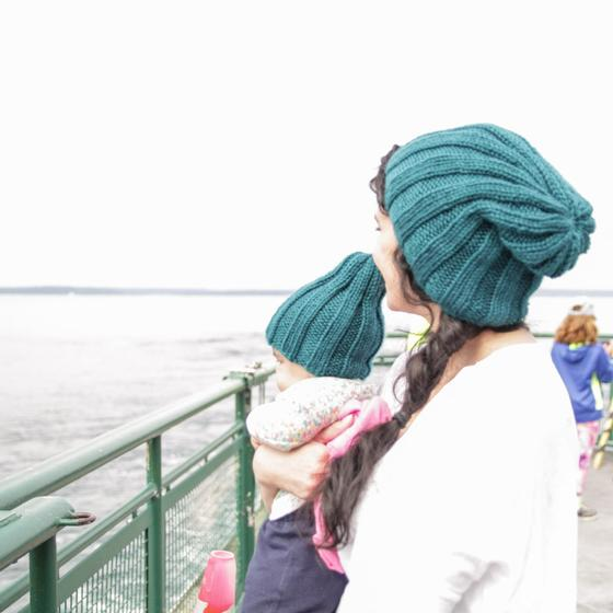 Any Gauge Toque - Knitting Patterns and Crochet Patterns ...
