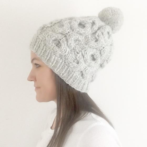 XOXO Beanie - Knitting Patterns and Crochet Patterns from ...