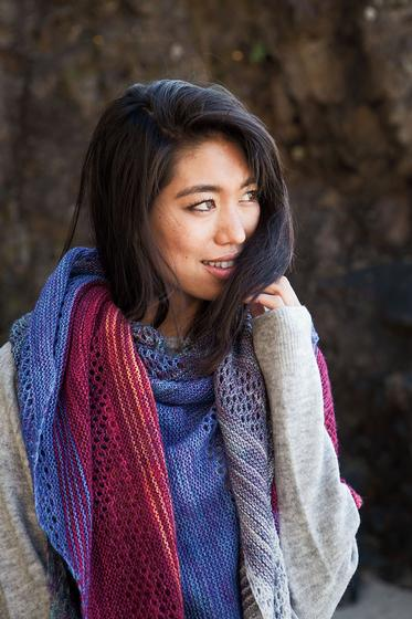 Find Your Fade Shawl - Knitting Patterns and Crochet Patterns from KnitPicks.com