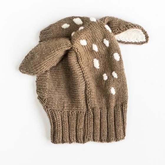 Knitting Pattern Deer Hat : Baby Deer Hat - Knitting Patterns and Crochet Patterns ...