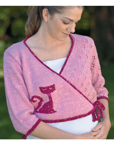 Ballet Cardigan Pattern - Knitting Patterns and Crochet Patterns from KnitPic...