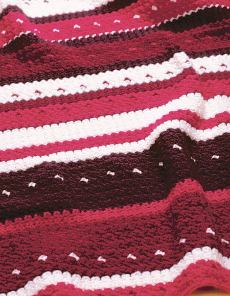 Free Crochet Pattern Lap Blanket : Crocheted Lap Blanket Pattern - Knitting Patterns and ...