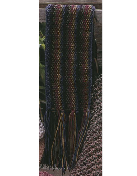 Lengthwise Scarf Pattern - Knitting Patterns and Crochet Patterns from KnitPi...
