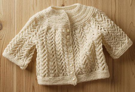 Elizabeth Zimmermann Knitting Patterns : Best Baby Sweater Pattern - Knitting Patterns and Crochet Patterns from KnitP...