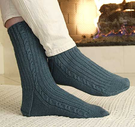 instructions sold separately in getting started knitting socks by ann