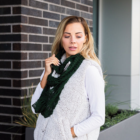 Free Knitting Pattern For Endless Scarf : Endless Loop Scarf Pattern - Knitting Patterns and Crochet Patterns from Knit...