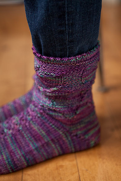 Knitting Pattern Reading Socks : Butterfly Garden Socks - Knitting Patterns and Crochet ...