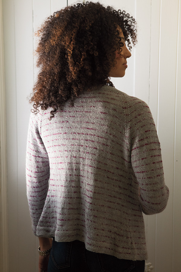 Classic Lines Cardigan Pattern - Knitting Patterns and ...