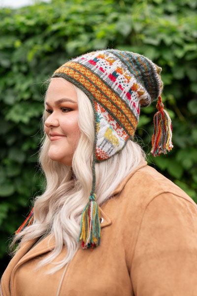 Andean Chullo Hat Pattern - Knitting Patterns and Crochet Patterns from KnitP...
