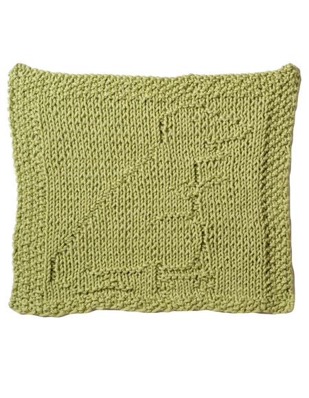 Roller Skating T-Rex Dishcloth Pattern - Knitting Patterns and Crochet Patter...
