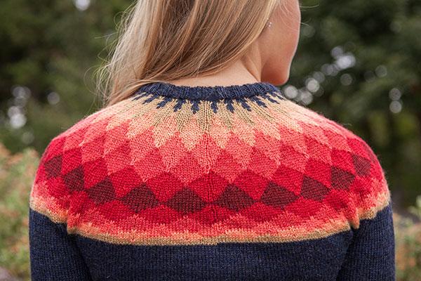 Yoke Knitting Pattern : Phased Yoke Pattern - Knitting Patterns and Crochet Patterns from KnitPicks.c...