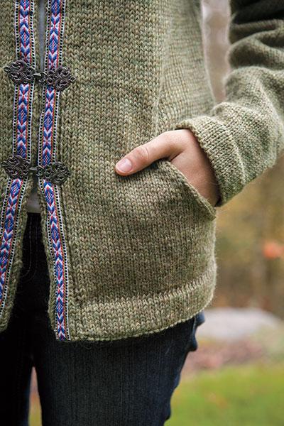 Raglan Jacket Knitting Pattern : Basic Raglan Jacket - Knitting Patterns and Crochet Patterns from KnitPicks.com