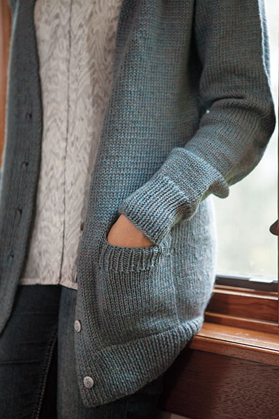 Knitting Pattern Boyfriend Jumper : Boyfriend Cardigan - Knitting Patterns and Crochet Patterns from KnitPicks.com