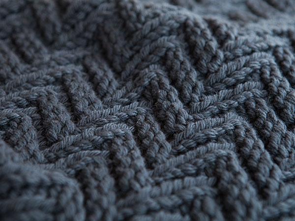 Zigzag Knitting Pattern : Zig Zag Mat - Knitting Patterns and Crochet Patterns from ...
