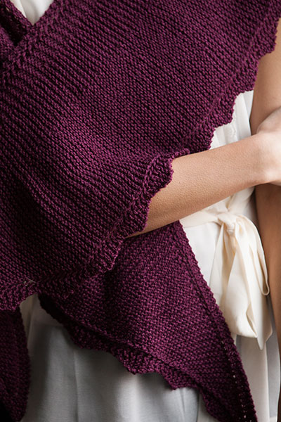 Dahlia Shawl - Knitting Patterns and Crochet Patterns from KnitPicks.com by E...