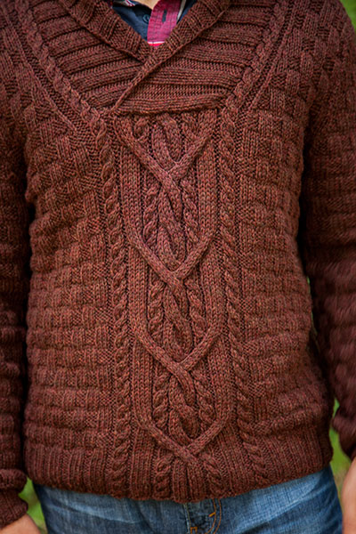 Knitting Patterns For Mens Half Sweaters : Mountain House Pullover - Knitting Patterns and Crochet ...