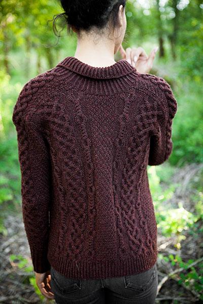 Knit Picky Patterns : Herne Cardigan - Knitting Patterns and Crochet Patterns ...
