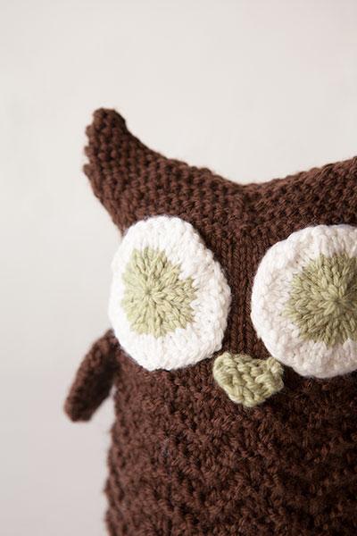 Knit Picky Patterns : Woodland Owl - Knitting Patterns and Crochet Patterns from ...