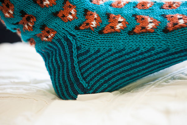 Foxy Sox - Knitting Patterns and Crochet Patterns from KnitPicks.com by Edite...